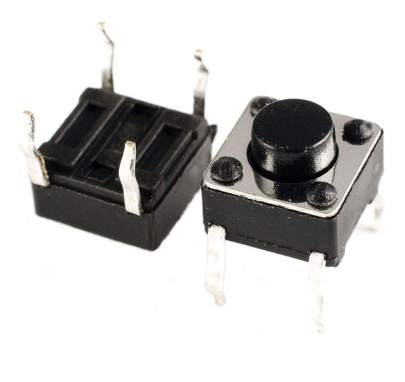 50 Unidades Touch Tact Switch 5.1mm 4 Patas Electronica