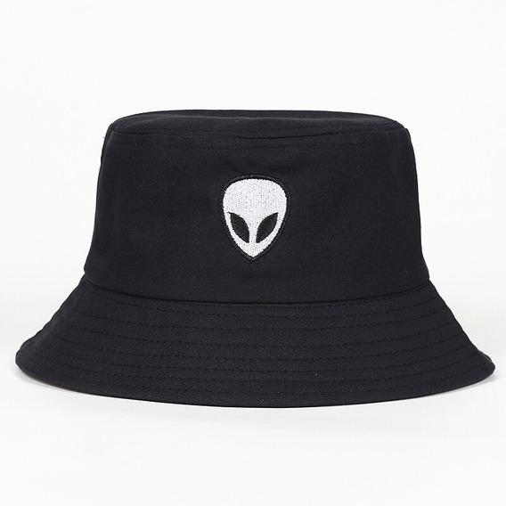 Chapeu Bucket Hat Importado Alien Skate Pescador Thrasher