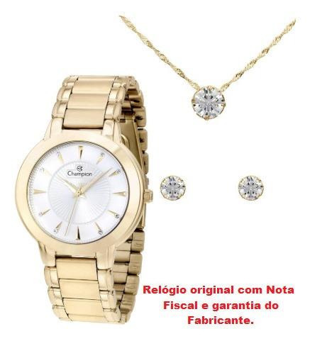 Relógio De Pulso Feminino Champion Cn28160w
