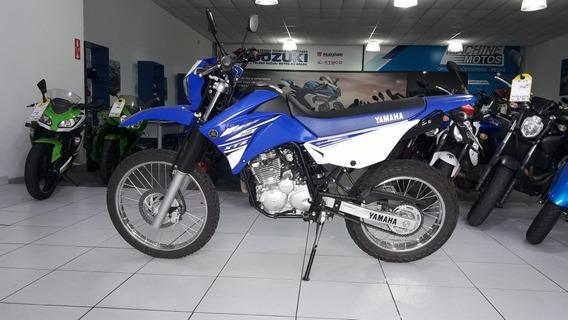 Yamaha Xtz 250 Lander 2019 Azul Unico Dono Impecavel