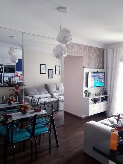 Apartamento Com 3 Dormitórios À Venda, 60 M² - Vila Pires - Santo André/sp - Ap63688