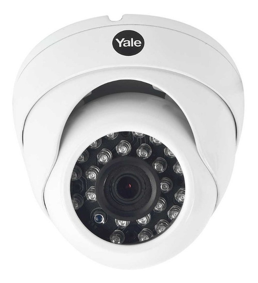 Cámara Para Circuito Yale 89192 Cctv Tipo Domo 720p