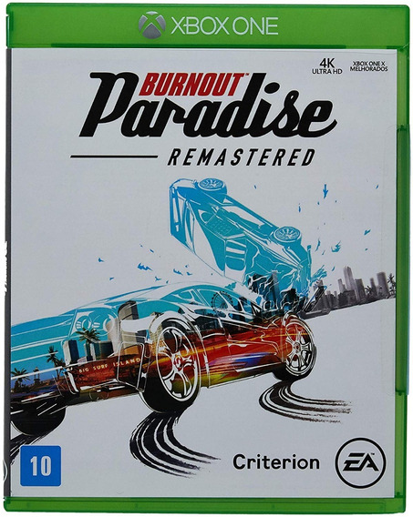 Jogo Burnout Paradise - Remastered (novo) Xbox One