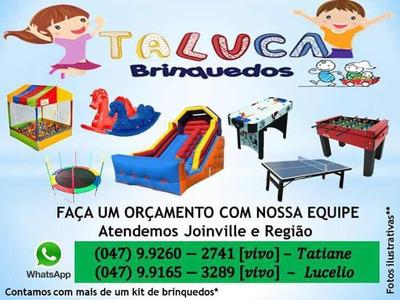 Locação De Cama Elástica. Brinquedos Para Festa Em Joinville