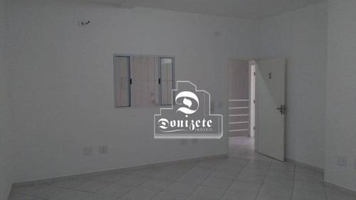 Sala Para Alugar, 30 M² Por R$ 760,00/mês - Vila Alto De Santo André - Santo André/sp - Sa0674