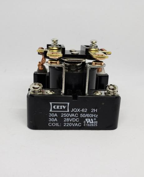Contactor Tipo Prd Mod.jqx-62 2h 30 Amperes, 2 Contactos Na