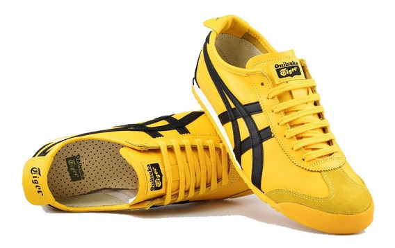 Mexico 66 Kill Bill Yellow Black Onitsuka Tiger Asics Tenis