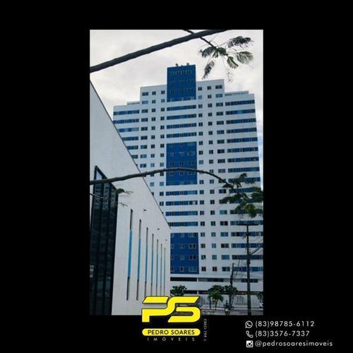 Apartamento Com 3 Dormitórios Para Alugar, 107 M² Por R$ 3.500/mês - Bessa - João Pessoa/pb - Ap4333