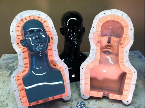 Caucho Silicona Moldes Brochable 25x225g Escultura Caballos