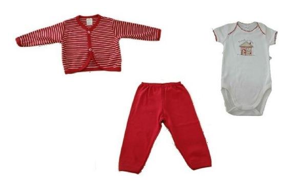 Kit Suedine Body Manga Curta,casaco,mijão-vermelho-best Club