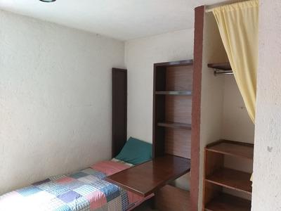 Habitacion Con Baño, Cerca Uvm Tlalpan E Inr