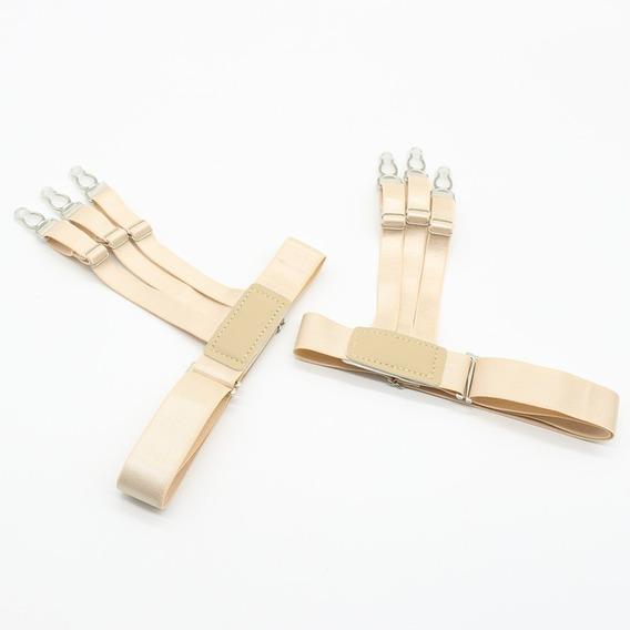Camisa Cinturón De Sujeción Aprieta Y Endereza Dos Piezas