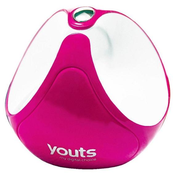 Dispositivo De Som Por Vibração Youts Globe Rosa