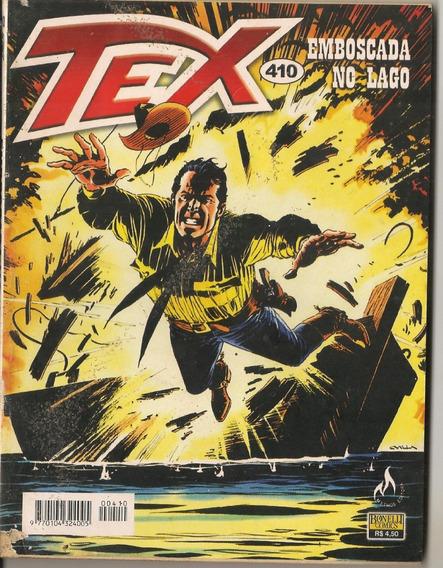 Hq Tex Willer Nº410 Emboscada No Lago Mythos Editora