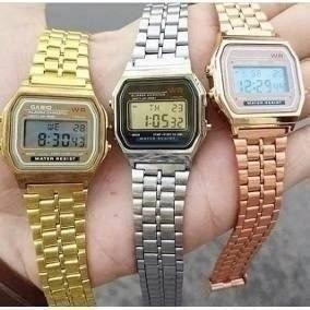Kit 10 Relógios Vintage + Caixa Acrílico