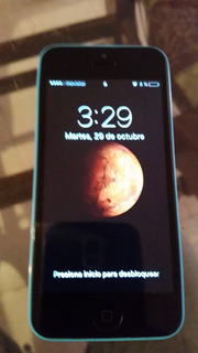 iPhone 5c De 32 Gb Azul En Excelentes Condiciones