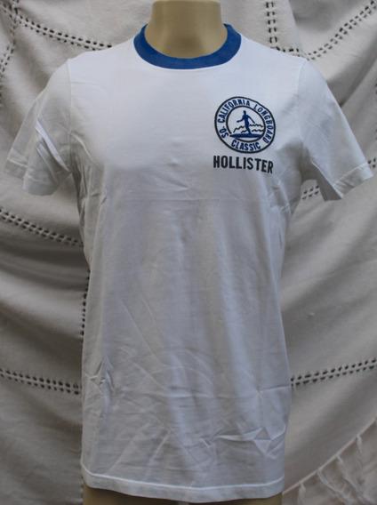 Camiseta Hollister Camisa Surfista Slim Original Blusa
