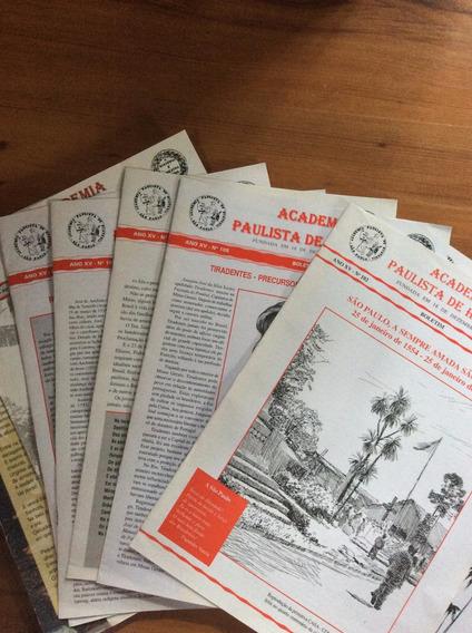Boletim: Academia Paulista De História - 2001/02/03
