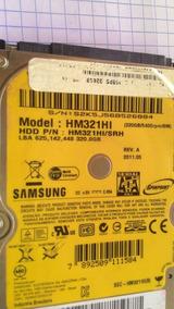 Placa Lógica Hd 320gb Samsung Hm321hi/srh Sata Note Interno