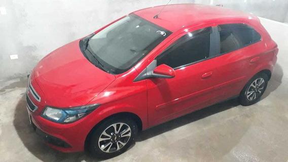 Chevrolet Ônix 2016, 1.4 Ltz Vermelho , Top De Linha