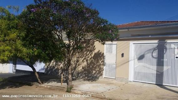 Casa Para Venda Em Tatuí, Nova Tatui, 3 Dormitórios, 1 Suíte, 2 Banheiros, 2 Vagas - 0036_1-671152