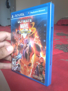 Ultimate Marvel Vs Capcom 3 Ps Vita 100% Nuevo Y Original