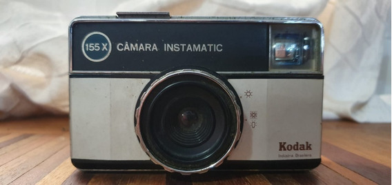 Máquina Fotográfica Kodak Instamatic 55x Antiga