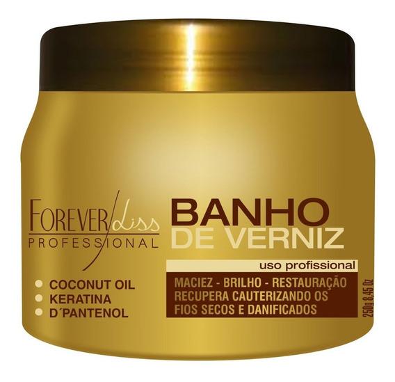 Banho De Verniz Brilho Hidratação 250g Forever Liss