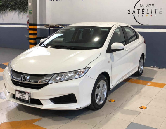 Honda City 2016 4 Pts. Lx Cvt