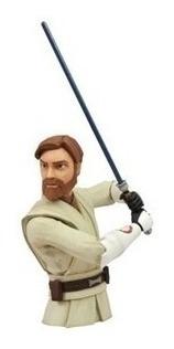 Boneco Cofre De Moedas Obi Wan Kenobi Star Wars Diamond
