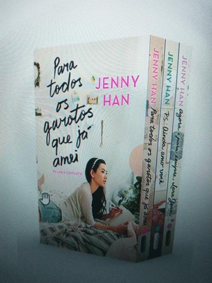 Livros- Trilogia Para Todos Os Garotos Que Já Amei