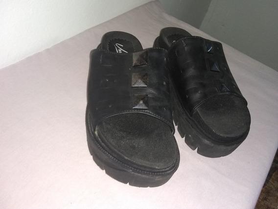 Sandalias Com Plataforma 36