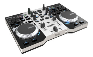 Consola Dj Hercules Instinct S Controladora Placa De Sonido