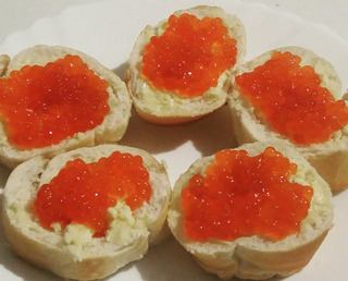 Caviar Rojo Natural Importado!!