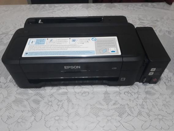 Impressora Epson L110 Acendendo As Luzes