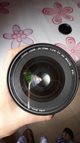Lente Sigma 24-70mm F/2.8 If Ex Dg P Nikon - Usada