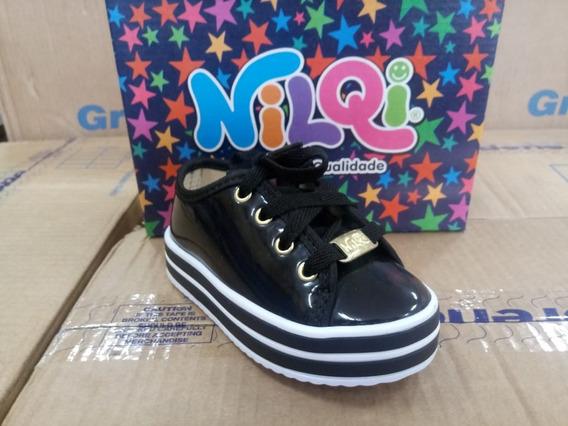 Tênis Nilqi Bebê Criança Infantil Promoção Barato Calçado Confortável E Leve
