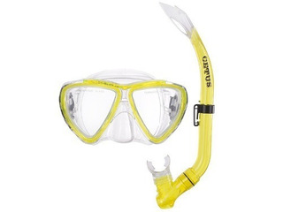 Kit Mergulho Máscara+snorkel Infantil Bari Cetus