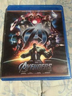 Blu Ray Avengers Marvel Comics Downey Jr, Evans, Johansson