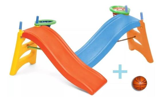 Tobogan Babys 2en1+ Aro Basquet / Open-toys Avell 34 Ea