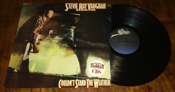 Stevie Ray Vaughan Couldnt Stand The Weather Disco Vinilo Lp