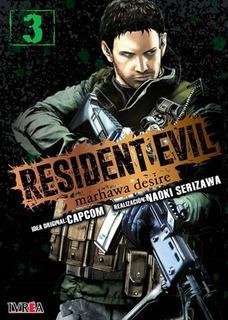 Libro Resident Evil: Marhawa Desire # 03 De 05