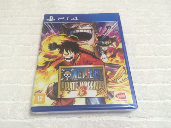 One Piece Pirate Warriors 3 - Lacrado De Fabrica