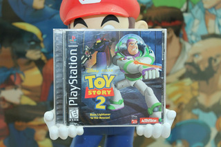 Toy Story 2 Playstation 1 Completo Ps1 Disney Buzz Lightyear