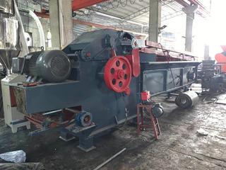 Triturador Para Bolsas Bigbag Con Sistema De Transporte
