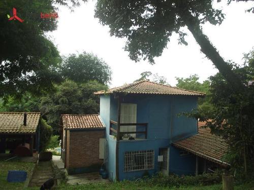 Chácara Com 2 Dormitórios À Venda, 1650 M² Por R$ 745.000,00 - Morro Grande - Caieiras/sp - Ch0043