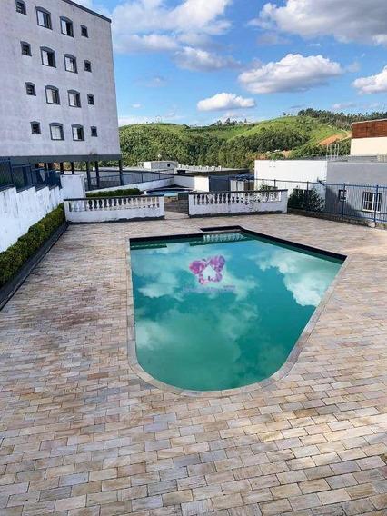Apartamento Minha Casa Minha Vida Com 53,66 M², Villagio Serrano, Araçariguama/sp. - Ap0047