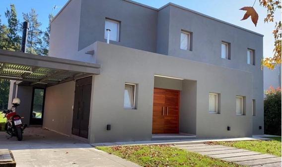 Espectacular Casa En Pilar Privado, Entrega Noviembre 2019