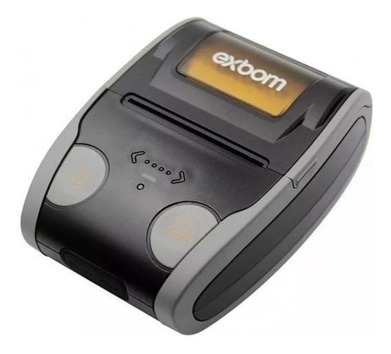 Mini Impressora Termica Portatil 58mm Bluetooth Bateria Lt