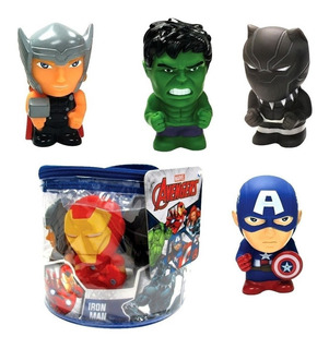 Set 5 Muñecos Avengers Estilo Funko Pop 12 Cm Tapimovil